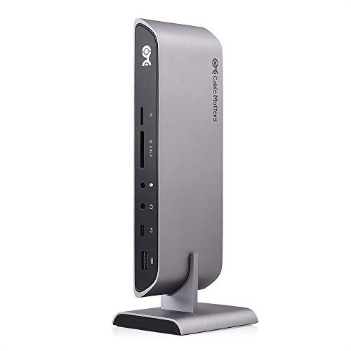 Cable Matters 10Gbps USB C and Thunderbolt 3 Dock