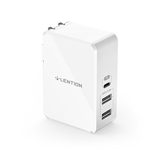 LENTION 45W USB-C Power Delivery Wall Charger