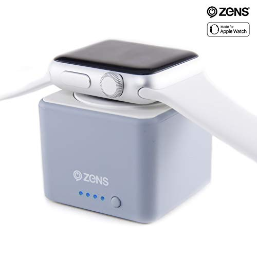 ZENS Wireless Charger Power Bank for Apple Watch