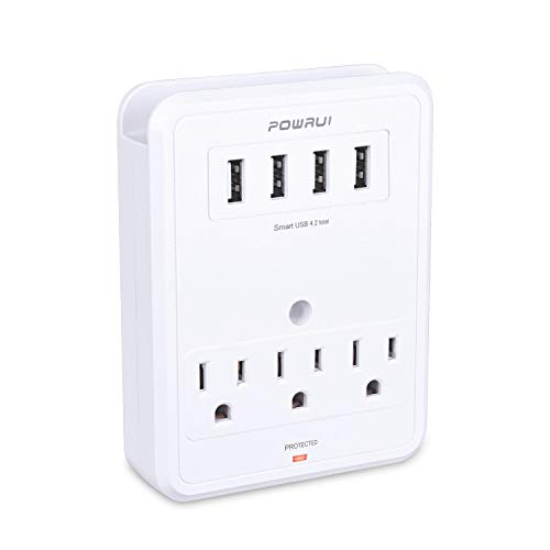 OWRUI wall-mount surge protector