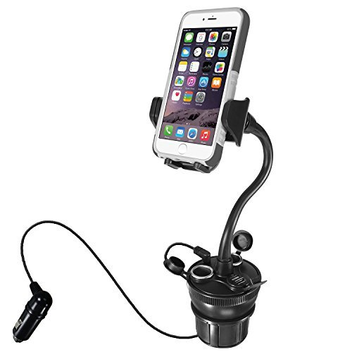 Macally Car Cup Holder Phone Mount