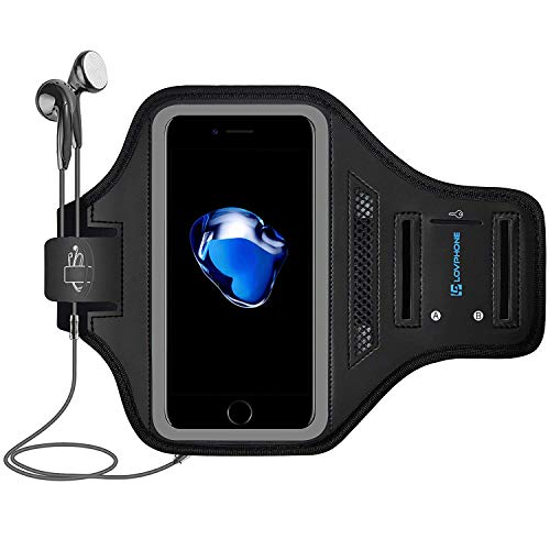 Lovphone iPhone 11 Pro/iPhone 11/iPhone XR Armband, Sport Running Exercise Gym Case