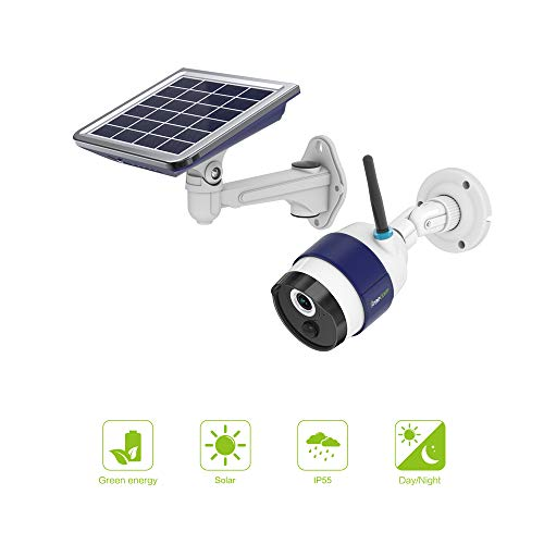Freecam outdoor solar powered camera