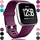 Wepro Replacement Bands Compatible with Fitbit Versa SmartWatch, Versa 2 Smart Watch and Versa Lite SE Sports...