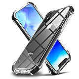 EFFENX iPhone Xs Case iPhone X Case Clear Hybrid TPU Hard Cover with Thin Shockproof Bumper Protective Case...