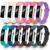 Greeninsync Band for Fitbit Alta,Replacement for Fitbit Alta HR Band Large Accessory Watch Buckle Wristband...