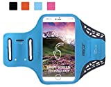 Agoz Turquoise Armband Cell Phone Holder Case Gym Running Biking Workout for Samsung Galaxy S20, S20 Plus, S10...