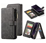 Hynice Galaxy S10 Plus Wallet Case, Magnetic Detachable Leather Case with 14 Card Slots Holder Kickstand...