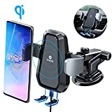 Andobil Qi Wireless Car Charger Mount, One Touch Auto Sensor Clamping Air Vent, Dash, Windshield Car Phone...