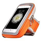 Neoprene and Nylon Sports Armband Sweatproof Workout Running Gym Fitness Cell Phone Case for Samsung Galaxy...