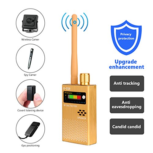 Eilimy Anti-Spy Wireless RF Signal Detector Set