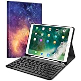 Fintie Keyboard Case with Built-in Apple Pencil Holder for iPad Air 2019 3rd Gen/iPad Pro 10.5' 2017-...