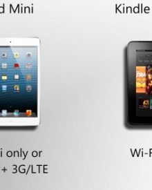 iPad Mini Vs Kindle Fire HD 8.9 – Which One Is Better?