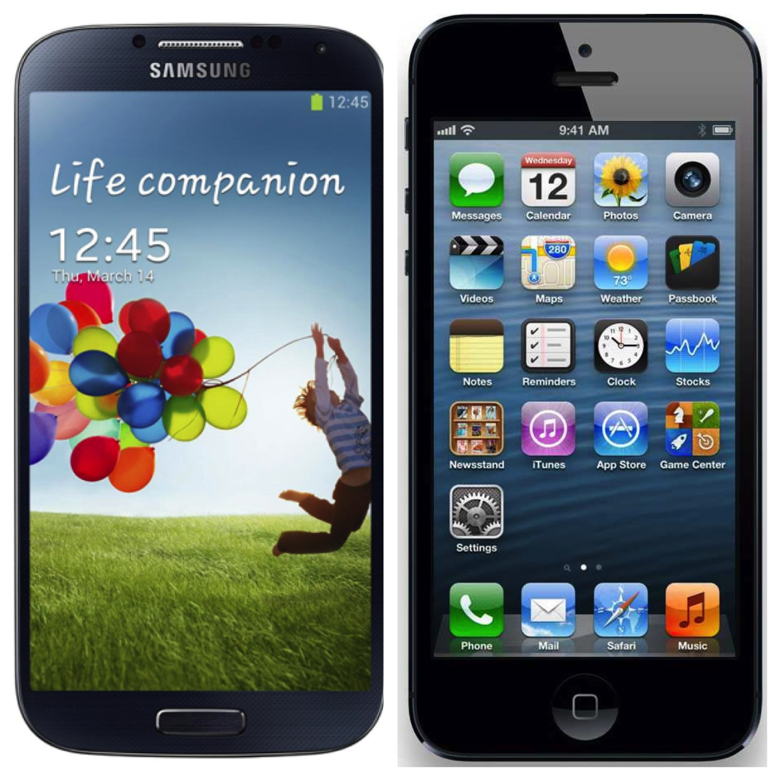 samsung galaxy iphone 5
