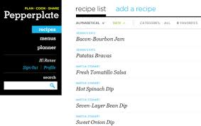 Pepperplate Recipe, Menu & Cooking Planner– (Android Recipe App)