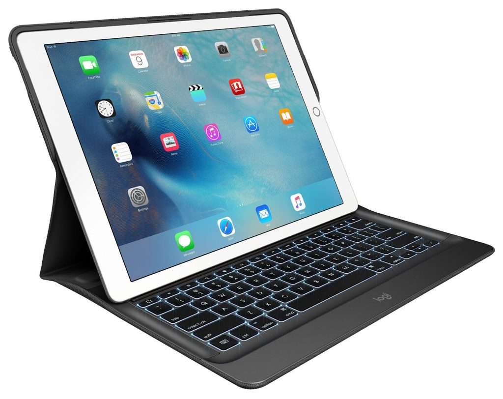 Logi Backlit Keyboard Case with Smart Connector for iPad Pro