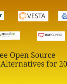 Best Free Open Source cPanel Alternatives for 2017