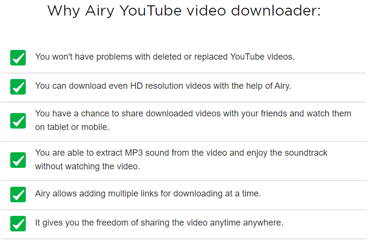 Airy YouTube Video and MP3 Downloader - Tech Doze