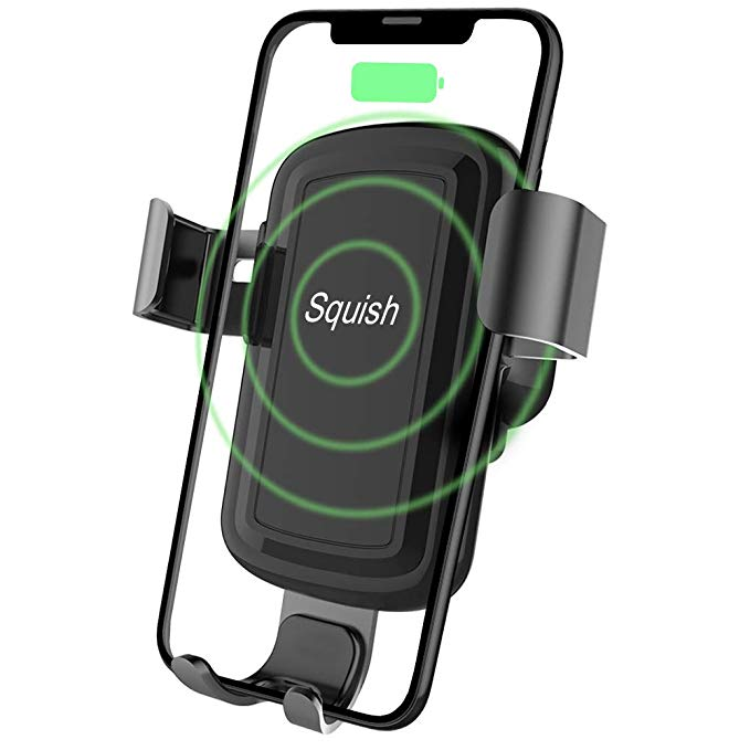 2 in 1 Squish Wireless Charger and Car Mount ed.