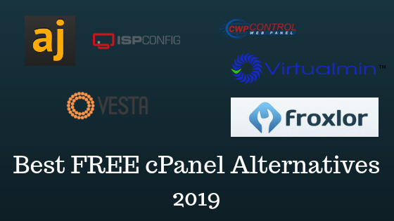 Best FREE cPanel Alternatives for 2019 And Guide to Choose