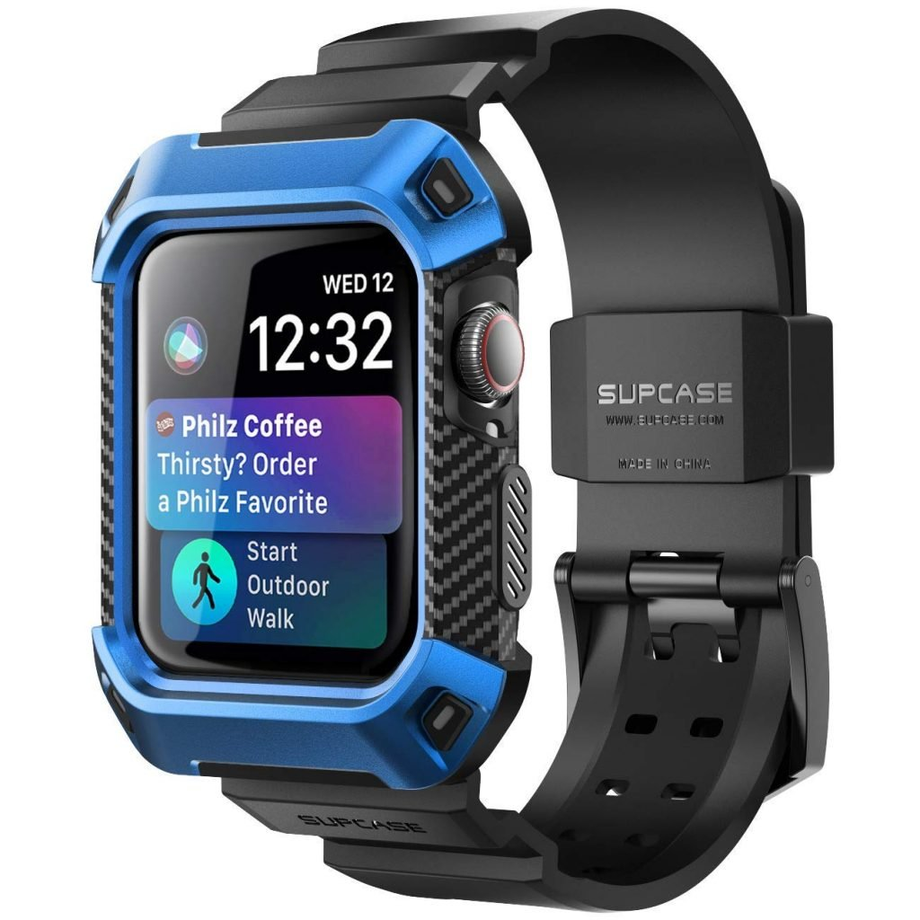 sports shoes 507d7 c1025 Best Apple Watch Series 4 Protection Cases With Strap Bands