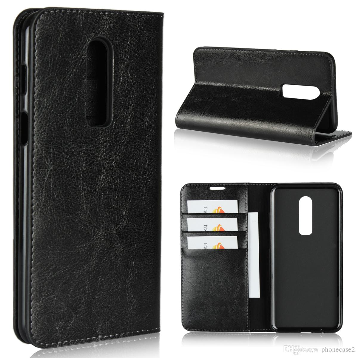 Oneplus 6t Mclaren Leather Wallet Sleeve Case Pdair Red: Best OnePlus 6T Wallet Cases