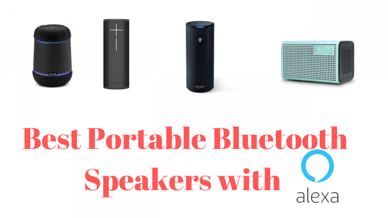 Best Portable Bluetooth Speakers with Alexa